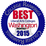 Washington Monthly: Best Liberal Arts Colleges, 2015