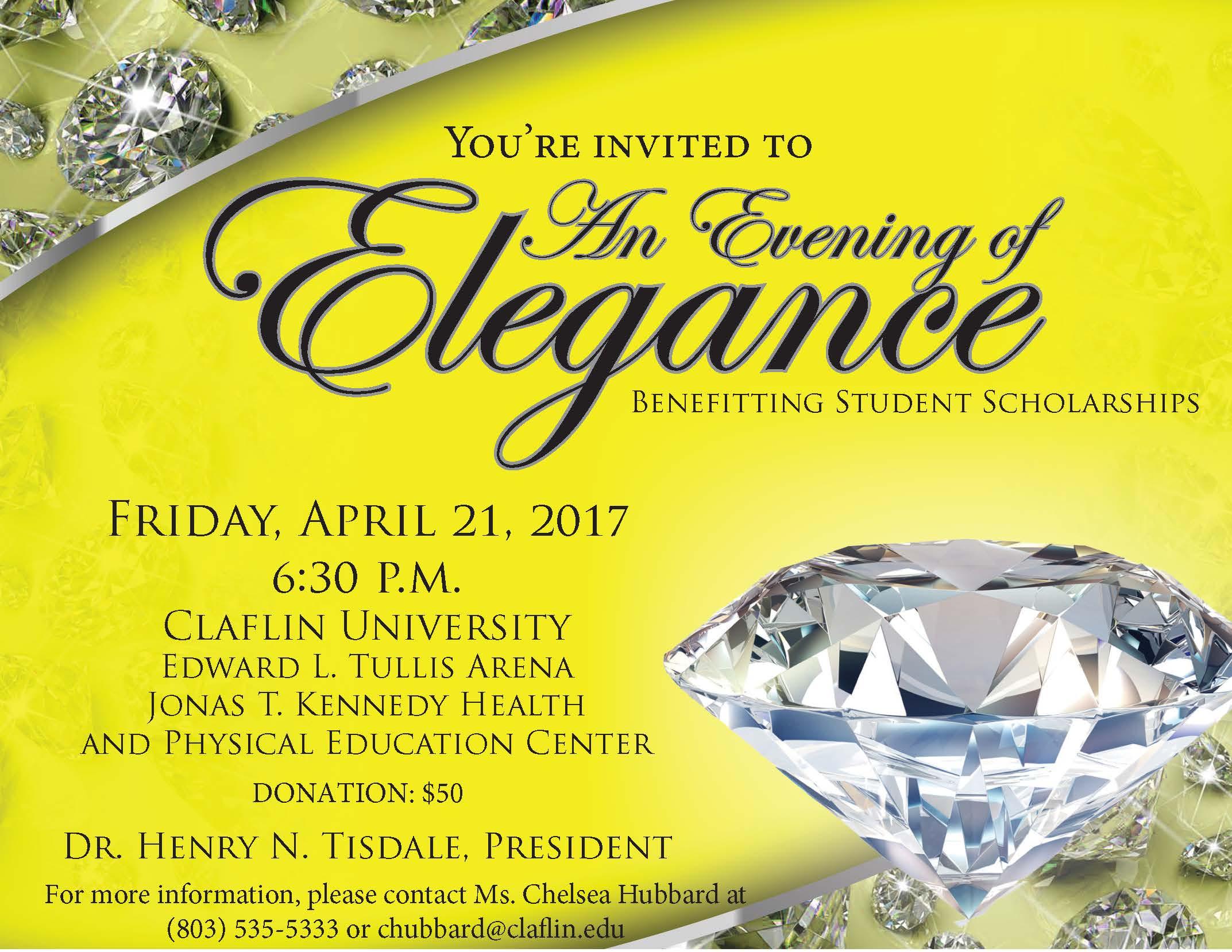 2017 Evening of Elegance Flyer (Revised 4.5.17)