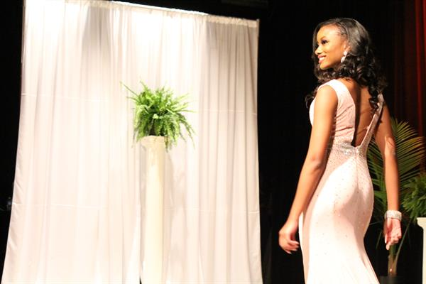 Kierra Carter Poses as Miss Claflin