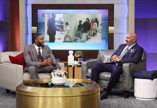 Barry White Jr. On The Steve Harvey Show
