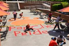 Panther Pride Day Students Participating