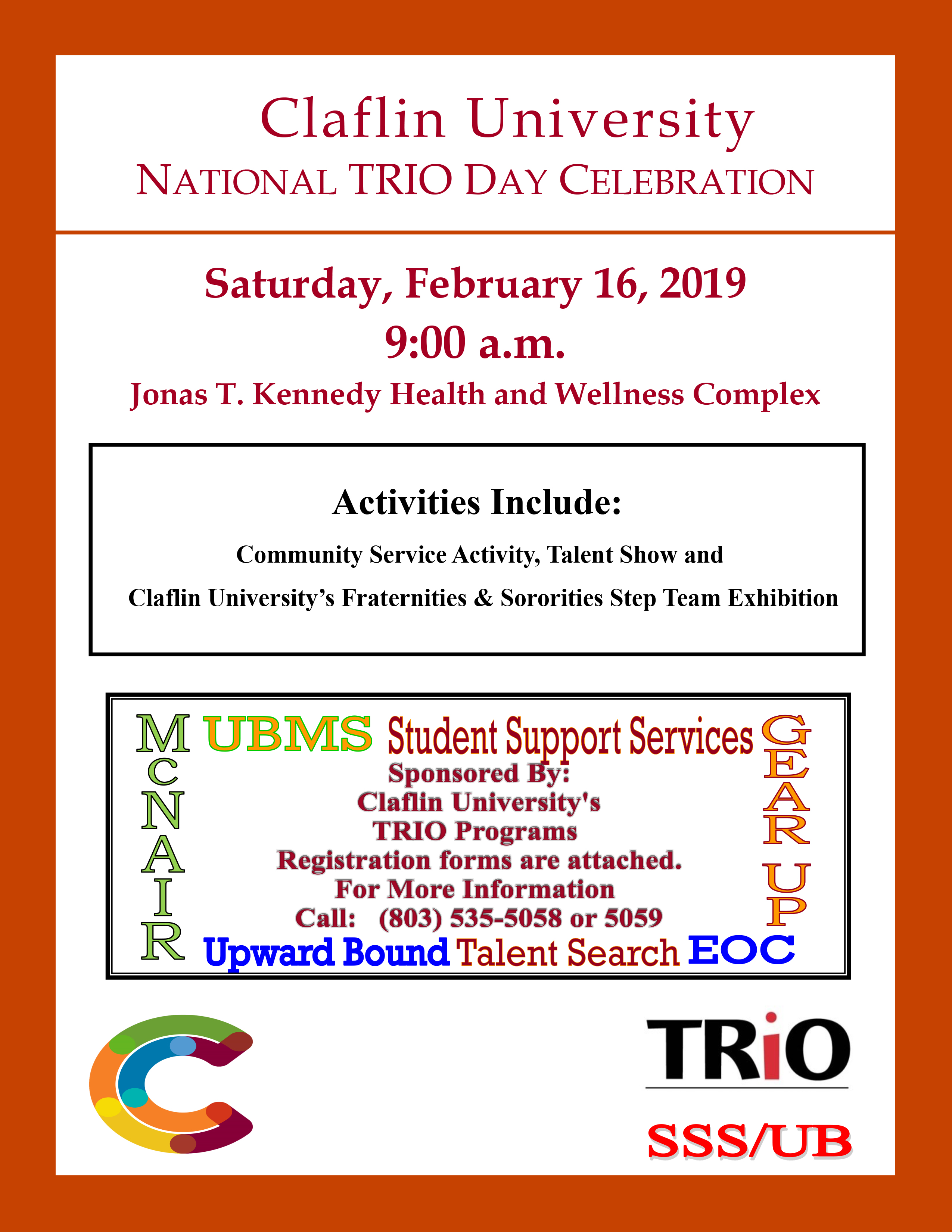 TRIO Day Flyer 2019