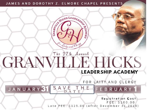 Granville HIcks flyer 2019