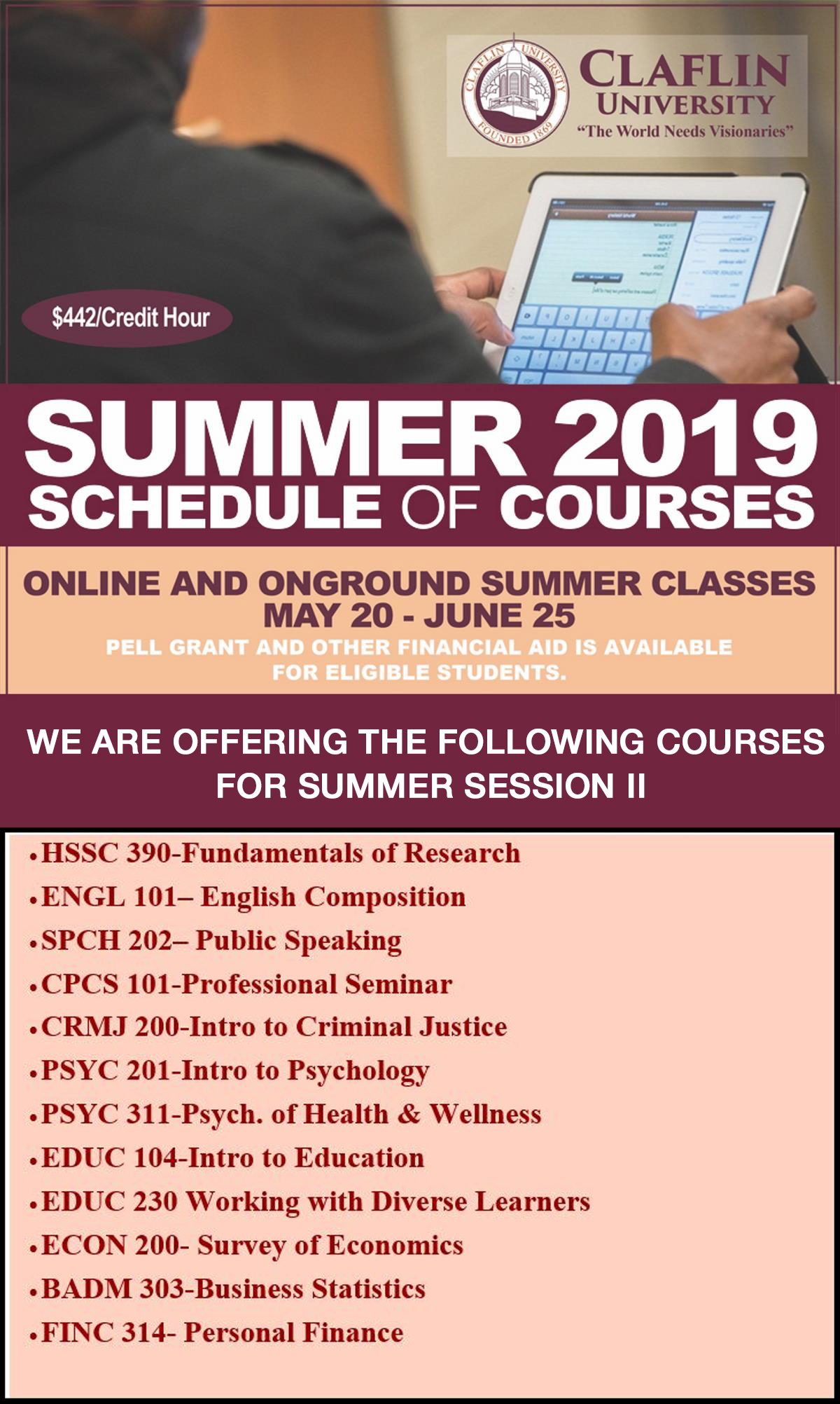 SUMMER SESSION II design