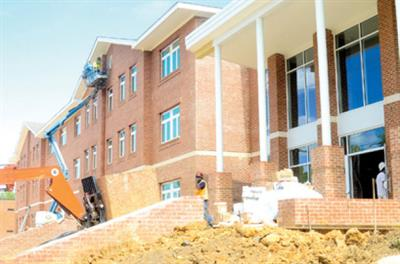 Claflin Commons Construction