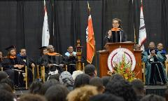 Professor Finney Speaks at the 145th Convocation