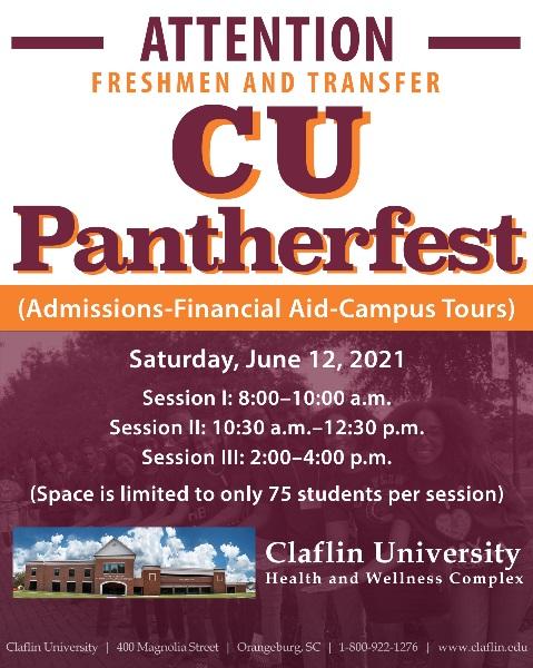 CU pantherfest JUNE