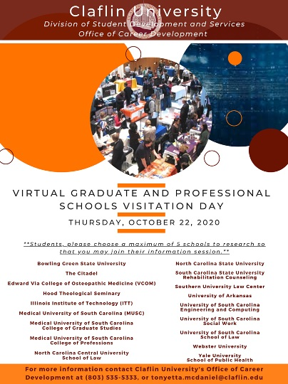 virtual graduate and professional school visitation day