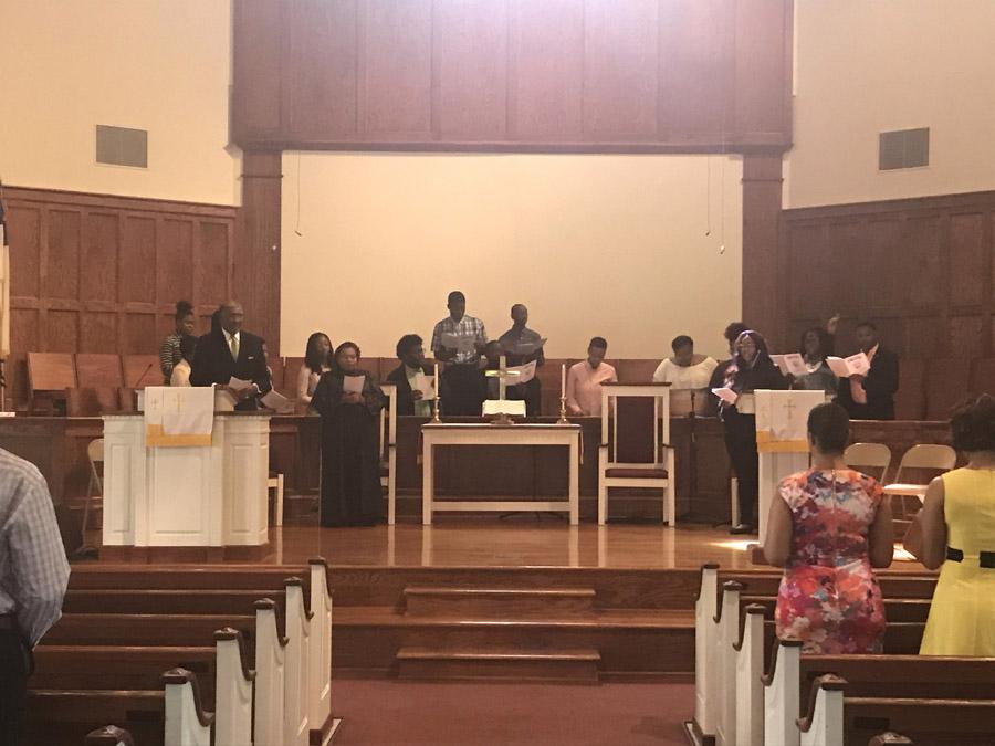 2018 calabash church service choir