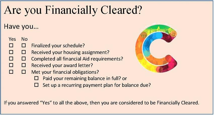 Financial Clearance Image