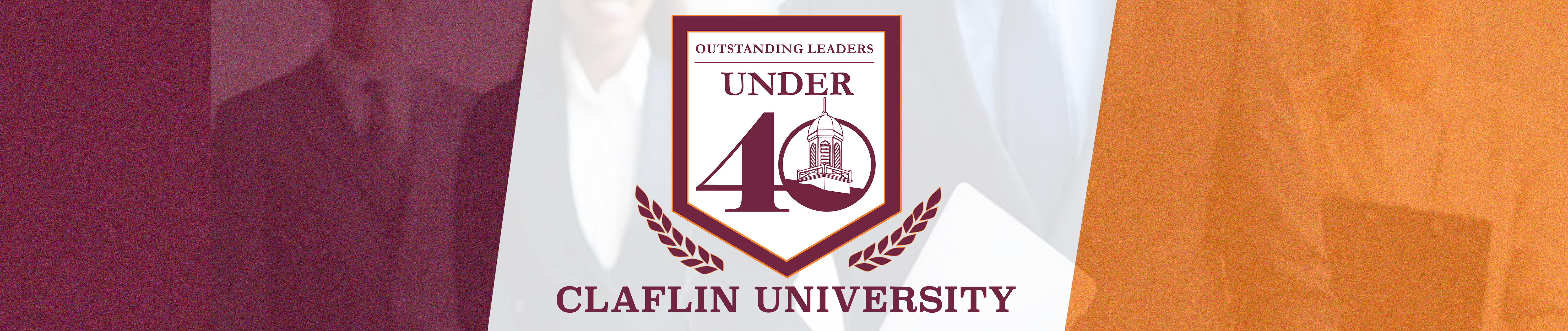 Outstanding Leaders Under 40 banner