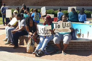 PANTHER 2017 fall Student Sit-In 11-3
