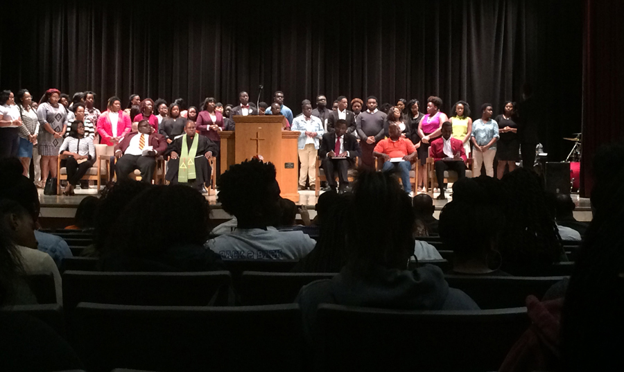 Prayer Service for Claflin Students