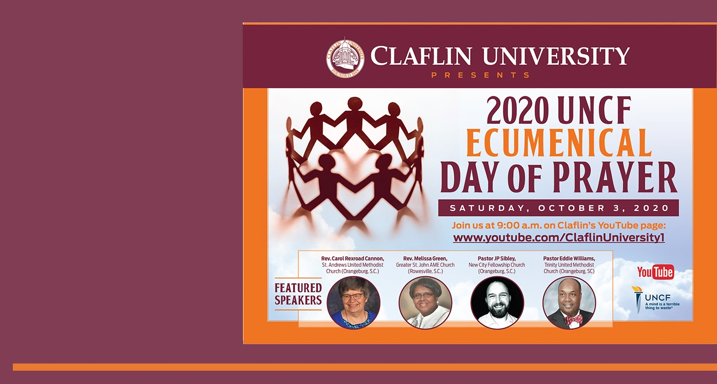UNCF Day of Prayer 2020  banner