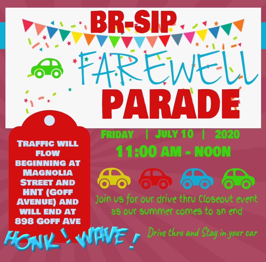 BR-SIP Drive Thru Parade