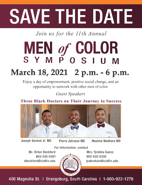 MEN OF COLOR FLYER 2021 SAVE THE DATE
