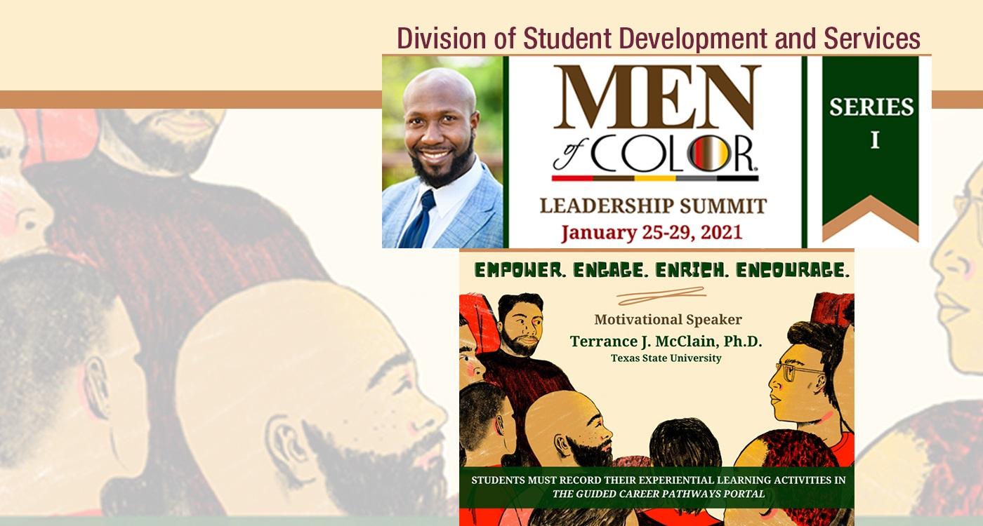 Men of Color leadership summit 2021 banner