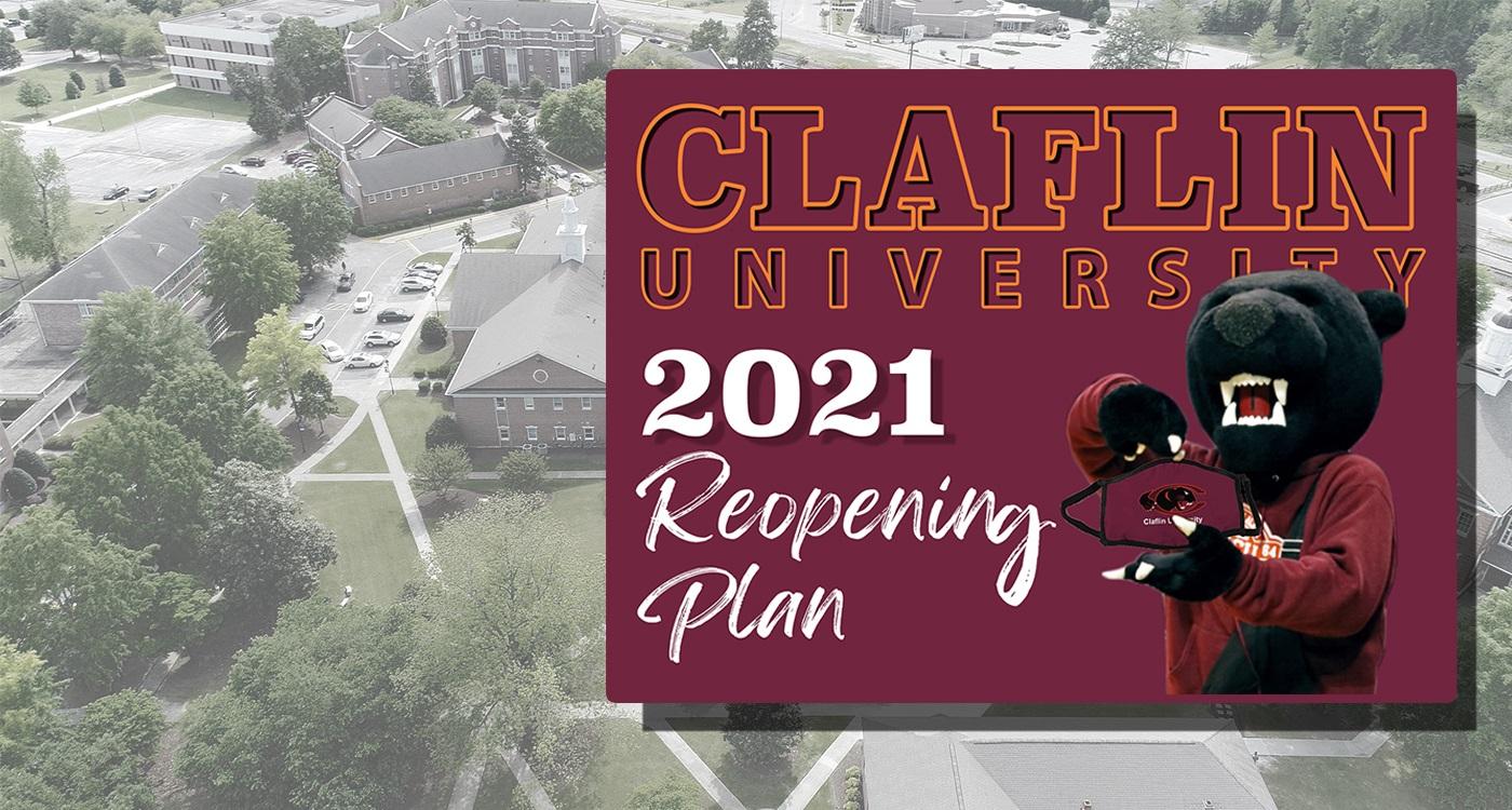 Reopening Plan 2021 banner