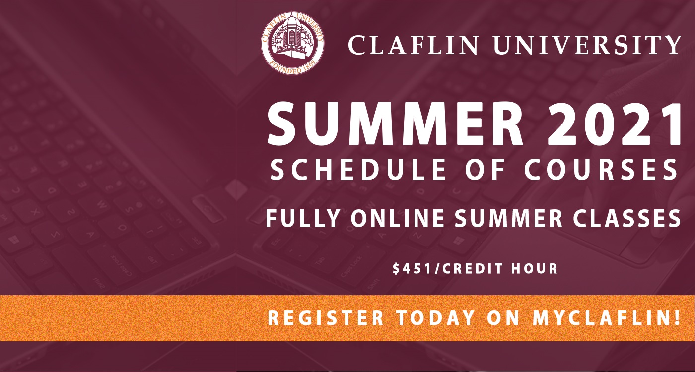 Summer 2021 Schedule of Courses