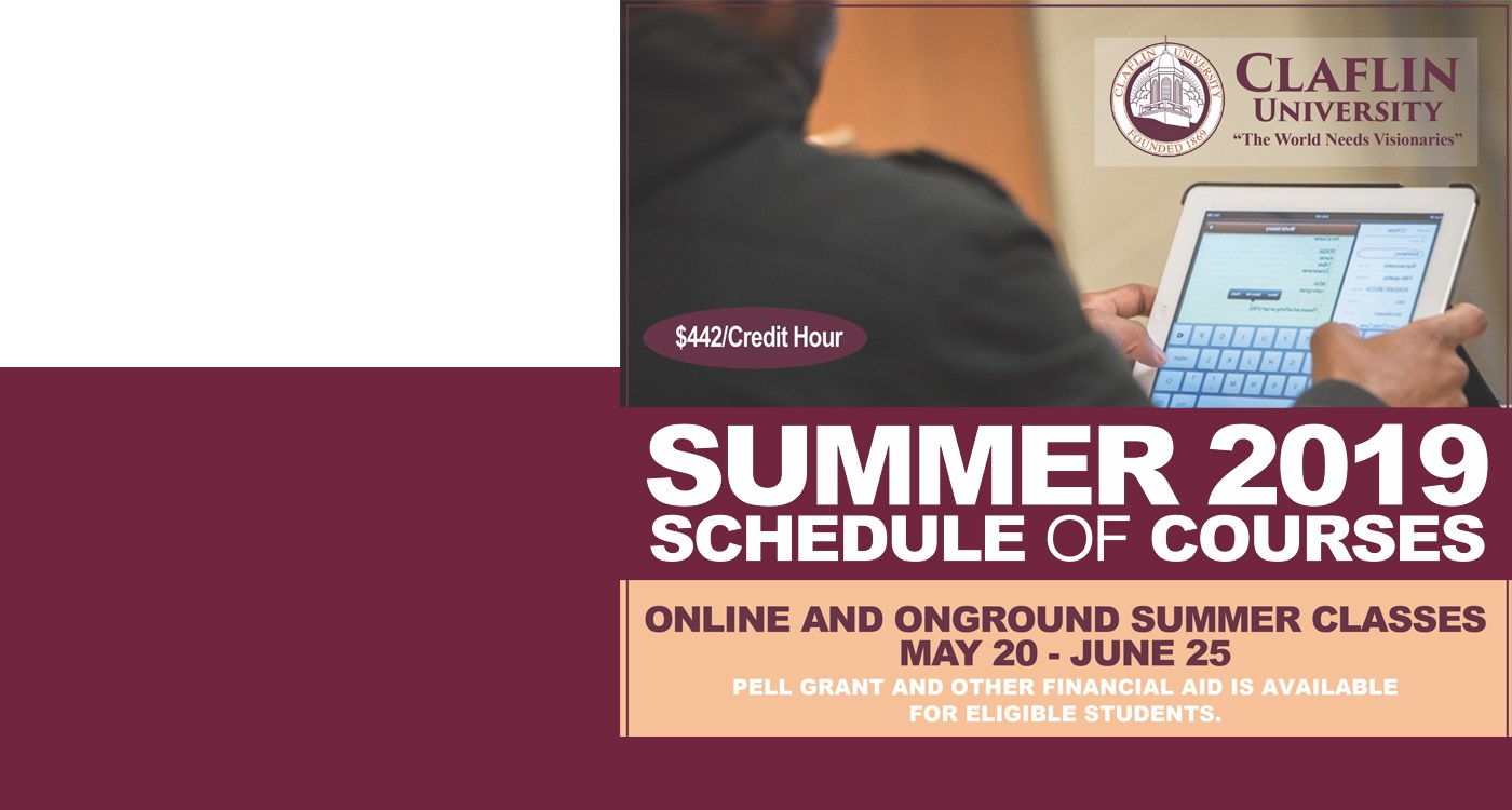 Summer courses 2019 banner