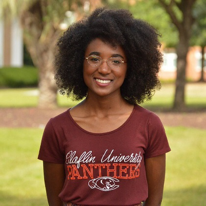 Claflin student - Jessica Tolbert